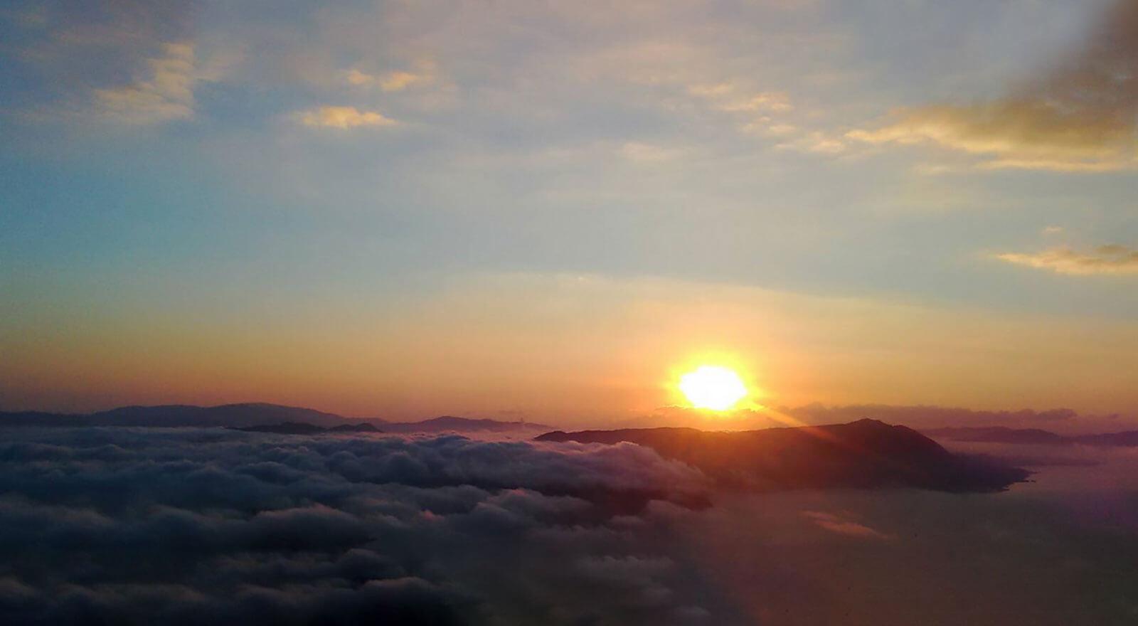 広島はつみみ 弥山からのご来光